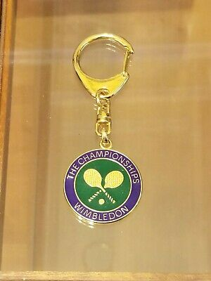 THE CHAMPIONSHIPS WIMBLEDON KEY CHAIN - NEW - 3 14