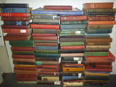Lot of 3 Antique Vintage Old Rare Hard To Find Books MIX COLORS RANDOM UNSORTED