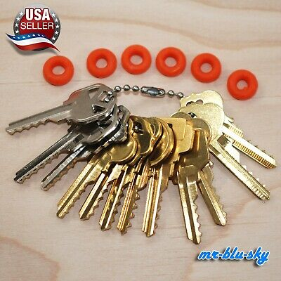 Professional Cut Key Set of 12 Residential Bump