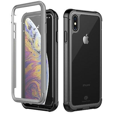 For Apple iPhone Xs Max XR X Case Cover Shockproof Waterproof Screen Protector