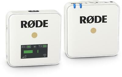 Rode Wireless GO Compact Wireless Microphone System - White