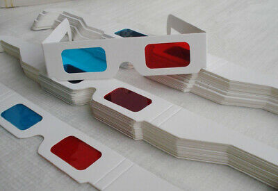 4 Pairs of 3D Glasses Free Shipping Ships from USA