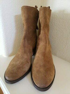 Sam Edelman Womens Farrell Bootie Suede Leather  Zip Up Size 8-