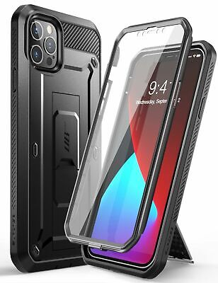 iPhone 12 PRO MAX Case 6-7 Inch SUPCASE UBPro Screen Protect Kickstand Belt Clip