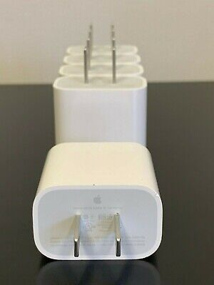 Apple iPhone 18 W USB-C Wall Adapter OEM 18W Fast Wall Charger 11 Pro A1720 5x