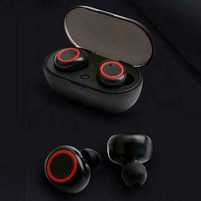 Wireless Earbuds Sweatproof Headsets Charger Case Bluetooth 5-0 Headphones - Mic