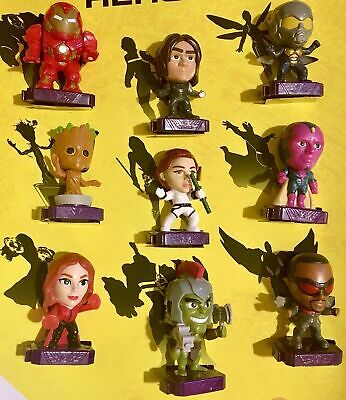 McDONALDS 2020 MARVEL AVENGERS HEROES HAPPY MEAL TOYS PICK YOUR FAVORITES