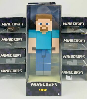 MINECRAFT STEVE 8-5 Large Scale Action Video Game Figure Toys Kids BRAND NEW