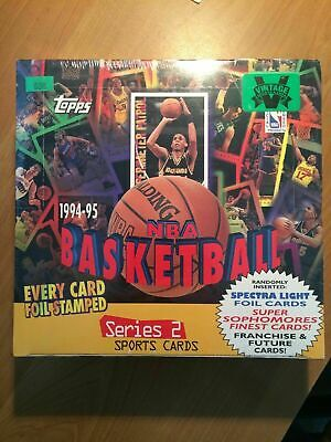 1994-95 Topps NBA Basketball Series 1 Sealed 24 Pack Jumbo Box Michael Jordan