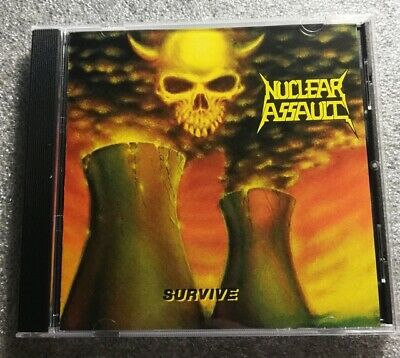 Nuclear Assault - Survive CD  Free Fast U-S- Shipping