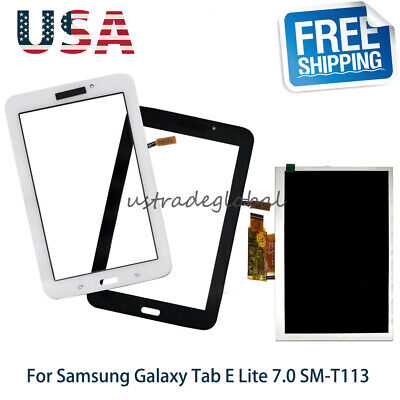 Touch Screen Glass Digitizer For Samsung Galaxy Tab E Lite 7-0 SM-T113 LCD Part