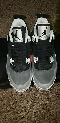 Nike Air Jordan 4 Retro Fear Pack 2013 Rare Sz 11-      Condition 9-510