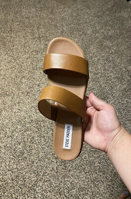 Steve Madden Dual Leather Sandals Size 8-5