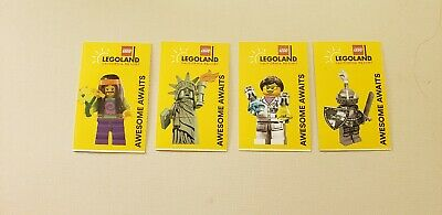 LEGOLAND CALIFORNIA RESORT 1-DAY SEA LIFE HOPPER TICKET EXP 12282020 4x four