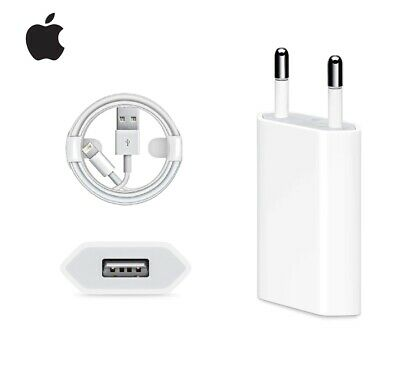 Apple EU Charger Plug European OEM Wall Adapter for iPhone 11 X XS XR 6 7 8 Plus