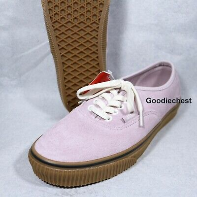 VANS AUTHENTIC SUEDE VIOLET ICEEMBOSS WOMENS SHOES W3165-069