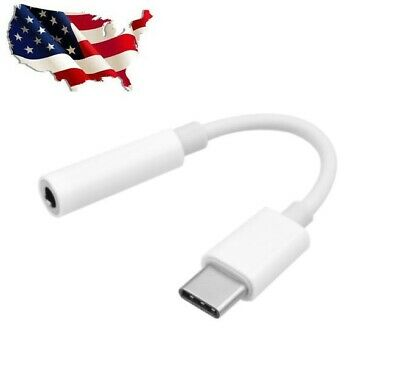 Type C to 3-5 mm Headphone Adapter AUX Cable For Samsung Galaxy Note 10 20 Ultra