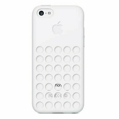 Original Apple Silicone Case for iPhone 5C - White