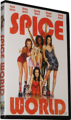 SPICE WORLD DVD 1997 - Region 1 USA Widescreen - Spice Girls