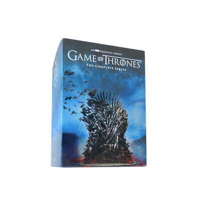 GAME OF THRONES THE COMPLETE SERIES SEASONS 1-8 DVD38-Disc Free shipping