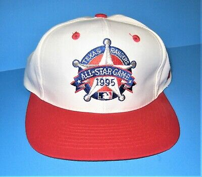 1995 Texas Rangers All-Star Game Baseball Hat   Authorized Tag Unworn Condition