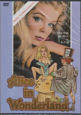 Alice in Wonderland Kristine DeBell Uncut Lewis Carroll Adult Comedy Musical DVD