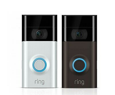 Ring Doorbell 2 - 1080p HD Video - Wi-Fi Home Security Camera - 2021 NEW MODEL