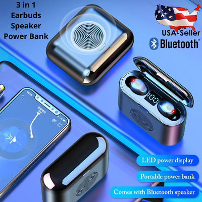 Air Wireless Headphones - Bluetooth Speaker EarBud Pods Compatible Android - IOS