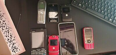 Multiple cell phone Lot 7 phones