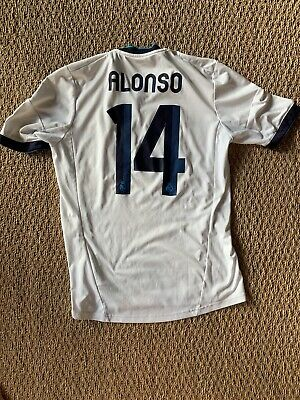 Xabi Alonso 14 Real Madrid 2012 Home Jersey size M