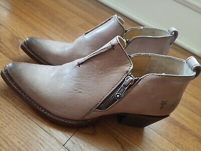 Frye Womans Distressed Sacha Moto Shootie Ankle Boots 70299 Size 6 NEW