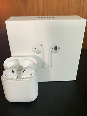 NEW Apple AirPods Wireless Bluetooth Headset in Box