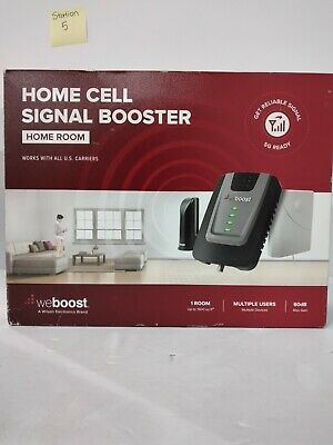 weBoost 472120 Home Room Cell Phone Signal Booster Kit - GrayBlack
