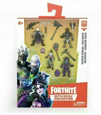 Epic Games Fortnite Battle Royale Collection Mini Action Figures Kids Toy New