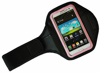 Band Arm Band Cell Phone Pocket Universal IPHONE 4 5 Samsung S3 Pink