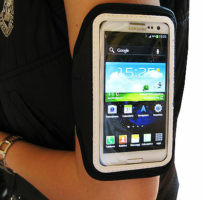 Band Arm Band Mobile Phone Holder Universal IPHONE 4 5 Samsung S3 Siii Navy
