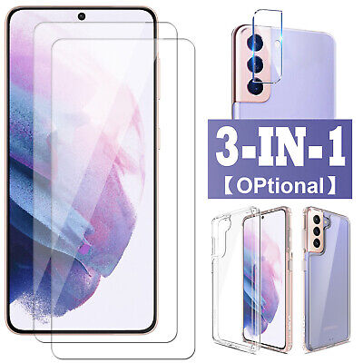 For Galaxy S21UltraPlus 5G Tempered Glass Camera LensScreen Protector 9HCase