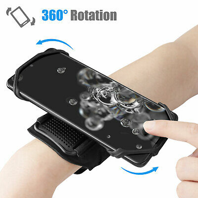 Sports Arm Band Mobile Phone Holder Bag Running Gym Armband Case Cover Exercise