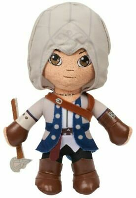 ASSASSINS CREED CONNOR FIGURE PLUSH 9 COLLECTABLE ITEM