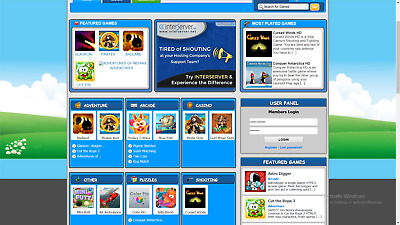 Stimulating Game Website with Affiliate Earning Free Installation -Free Hosting