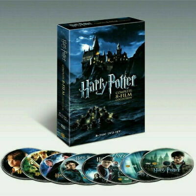 Harry Potter Complete 8-Film Collection DVD 2011 8-Disc Set Brand New USPS