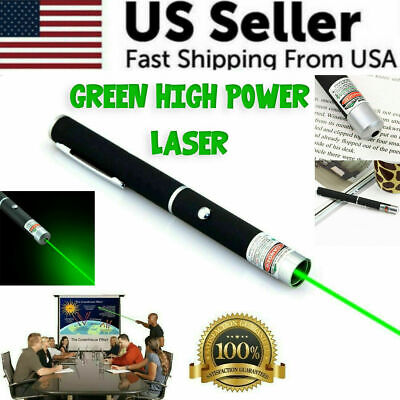 New Strong 900Mile 5 mW Green Laser Pointer Pen Visible Beam Light Lazer For Pet
