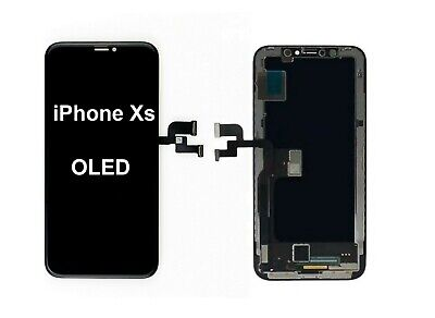 iPhone Xs LCD OLED Screen Replacement Full Digitizer Display Assembly Black