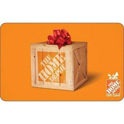 home depot gift card Physical 500