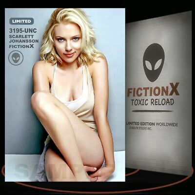 Scarlett Johansson   3195-UNC  FICTION X TOXIC RELOAD  Limited Edition cards
