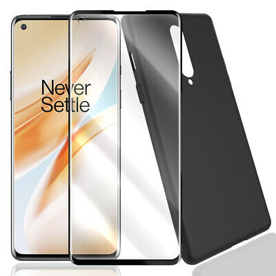 Durable Tempered Glass Screen Protector Heavy-Duty Case for Verizon OnePlus 8 UW