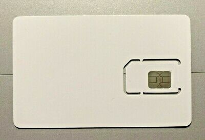 NYturbo iPhone White Unlock Sim Chip for iPhone 12 11 X XS Max XR 8 7 SE Reuse