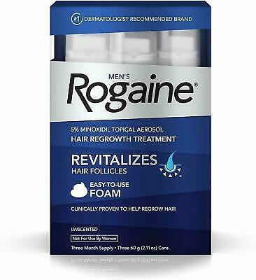 Rogaine Foam Hair Loss - Regrowth Treatment 5 Minoxidil - 1236 Month Supply