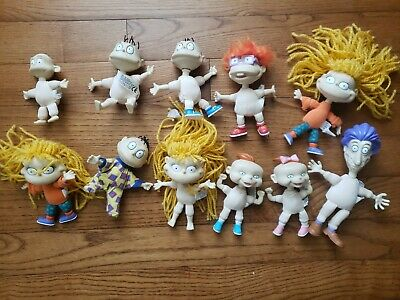 Rugrats Tommy Dill doll lot 6 nickelodeon toy plush vintage Mattel baby 4 -82