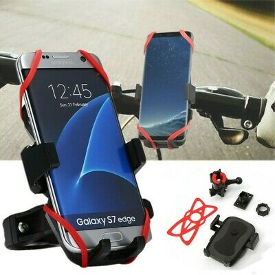 Bicycle Motorcycle MTB Bike Handlebar Cell Phone Mount Holder For Samsung iPhone